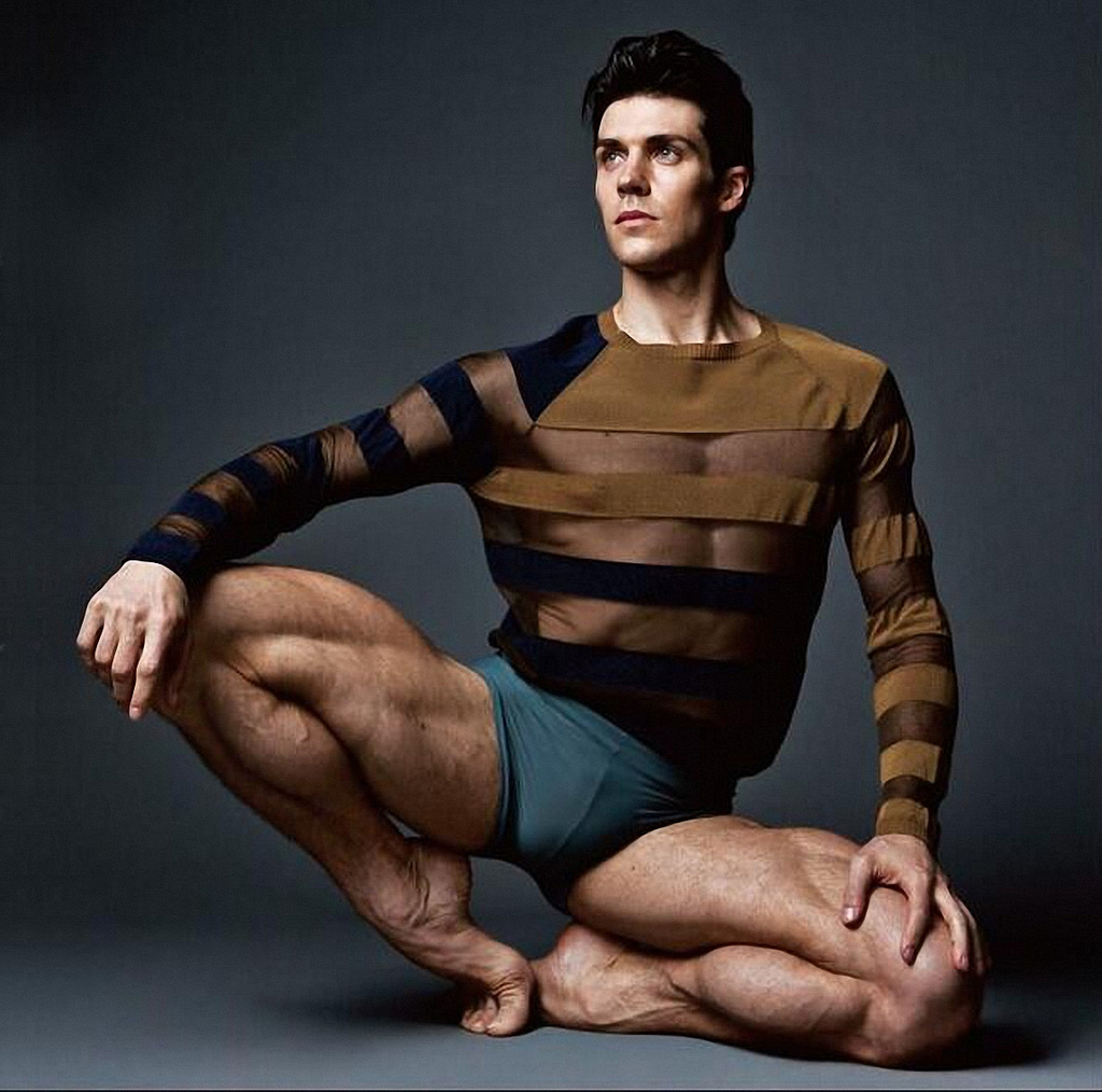 Men Black Ballet Shoe